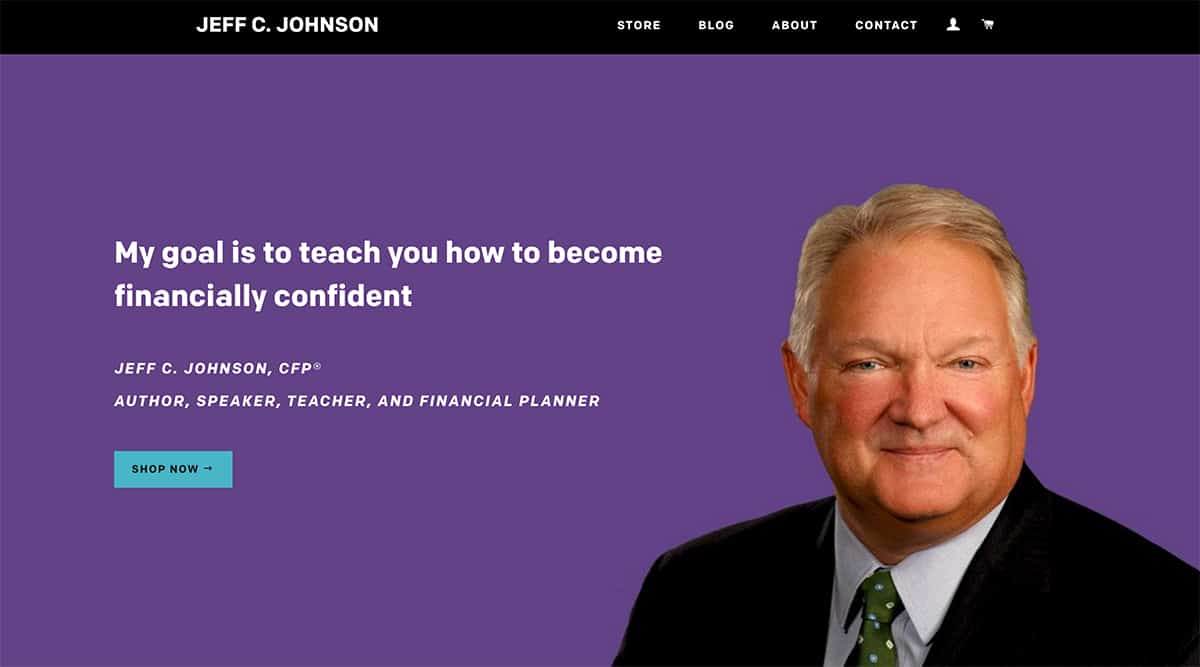 Jeff C. Johnson website image