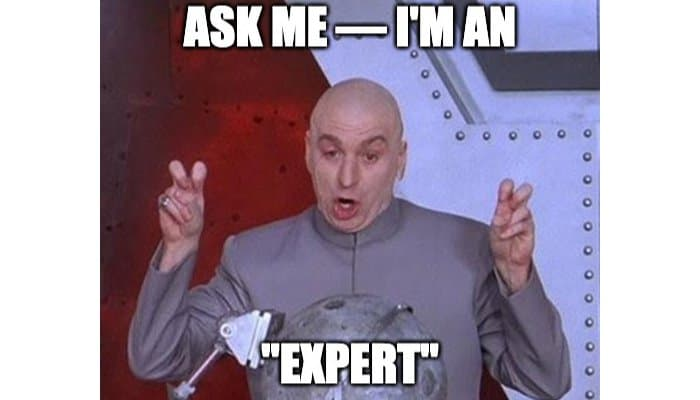 How to Be Recognized as an Expert